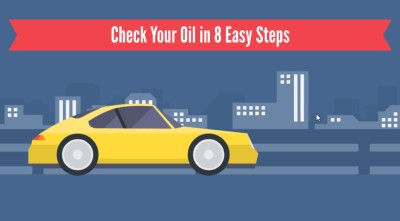 How to check your oil video